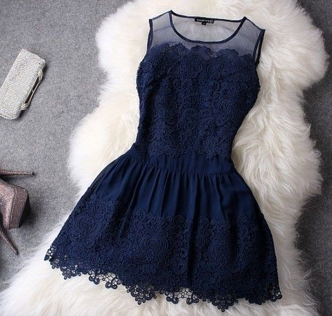 Silk organza Advanced water soluble lace embroidery flower dress