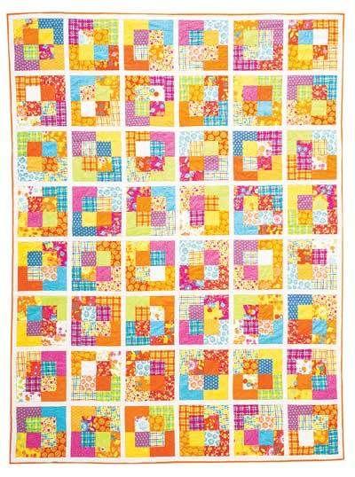 Kaleidoscope Wall Quilt - Not quite a tutorial but, a great idea non ...