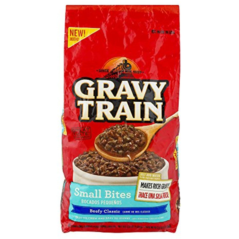 Gravy train beefy classic small bites dry dog food 35