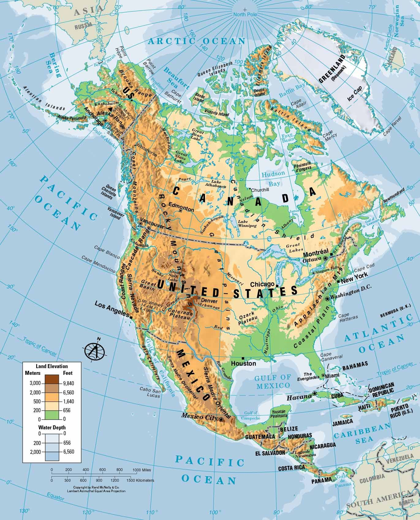 Physical Map Of South America Ezilon Maps  Best Ideas About - Physical map of western us