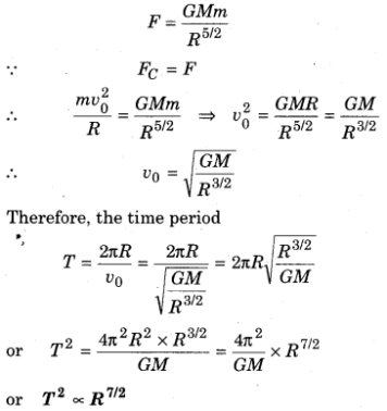 Rbse Solutions For Class 11 Physics Chapter 6 Gravitation 41 Physics Gravitational Potential Energy Binding Energy