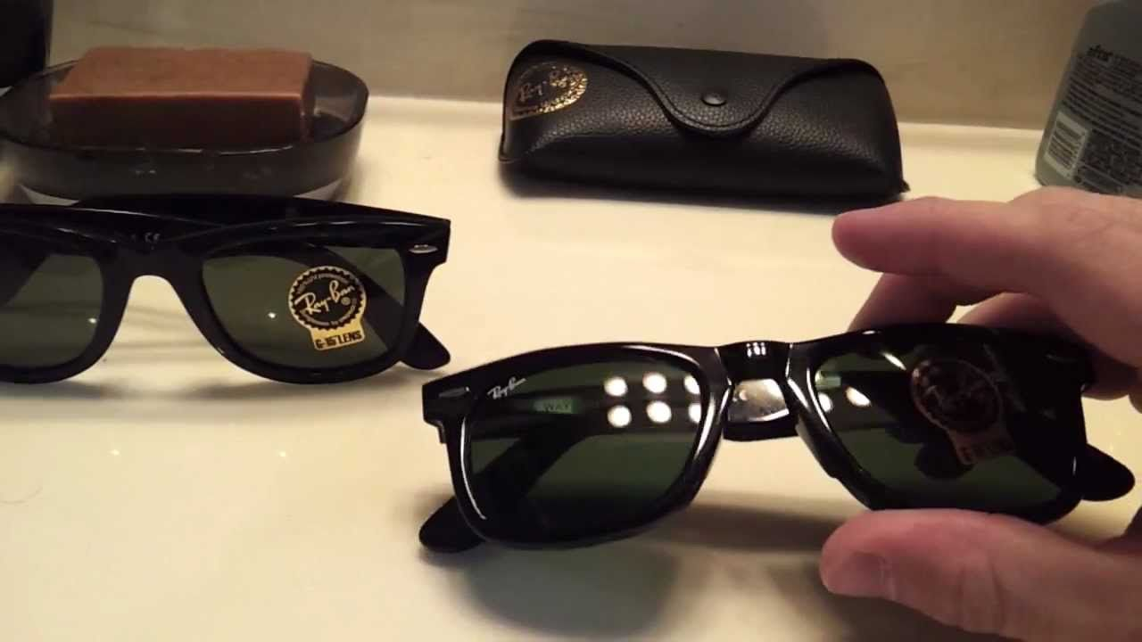 10c081d64ecc4 How to Spot Real and Fake Ray-Ban 2140 Original Wayfarers  isunglasses   online  shopping  eyewear