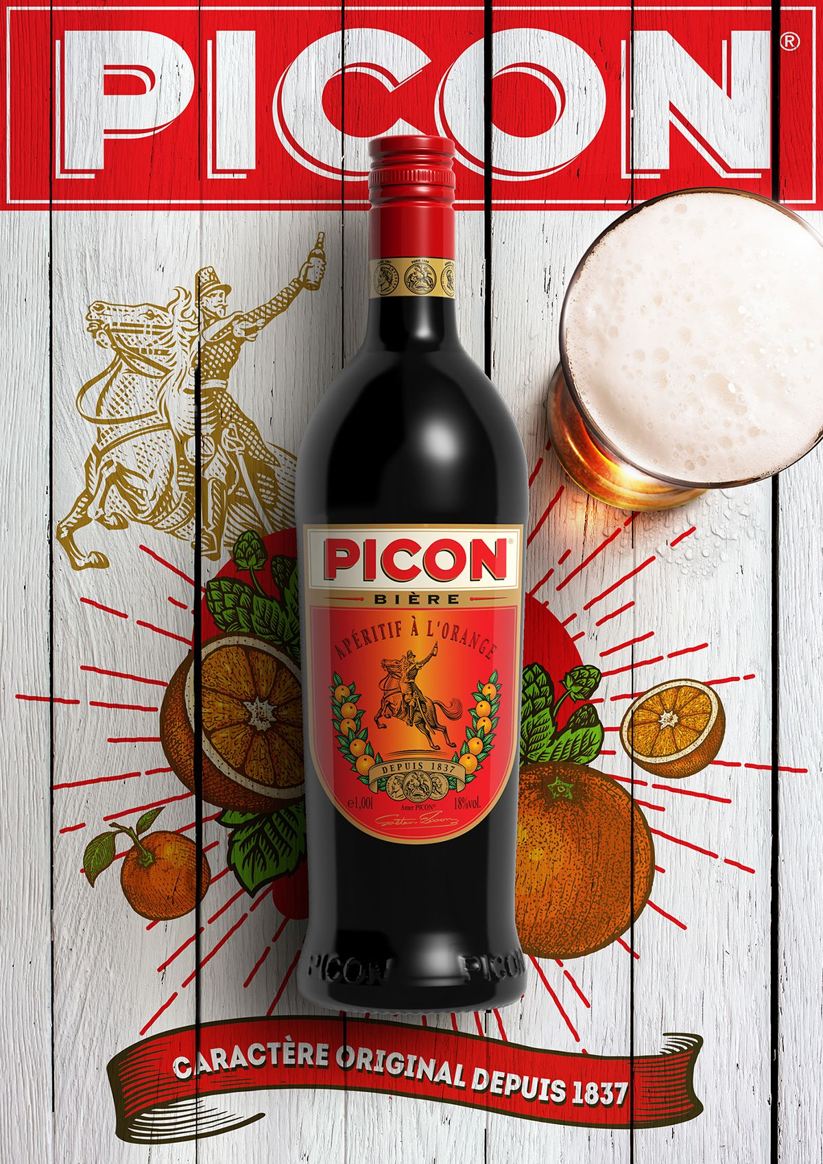 Campagne De Publicite Pour Picon On Behance Picon Biere Biere Campagne