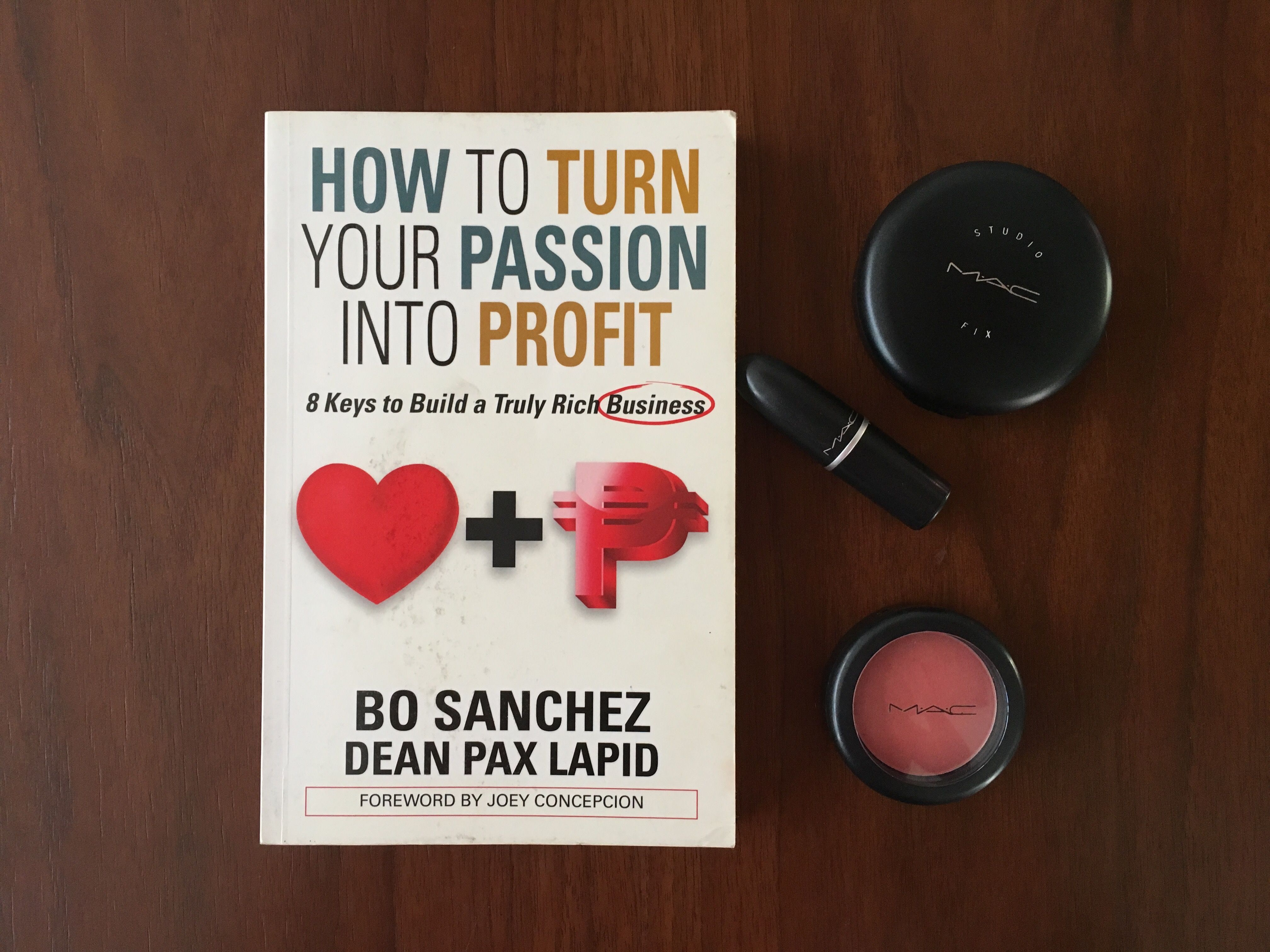 How to turn your passion into profit bo sanchez