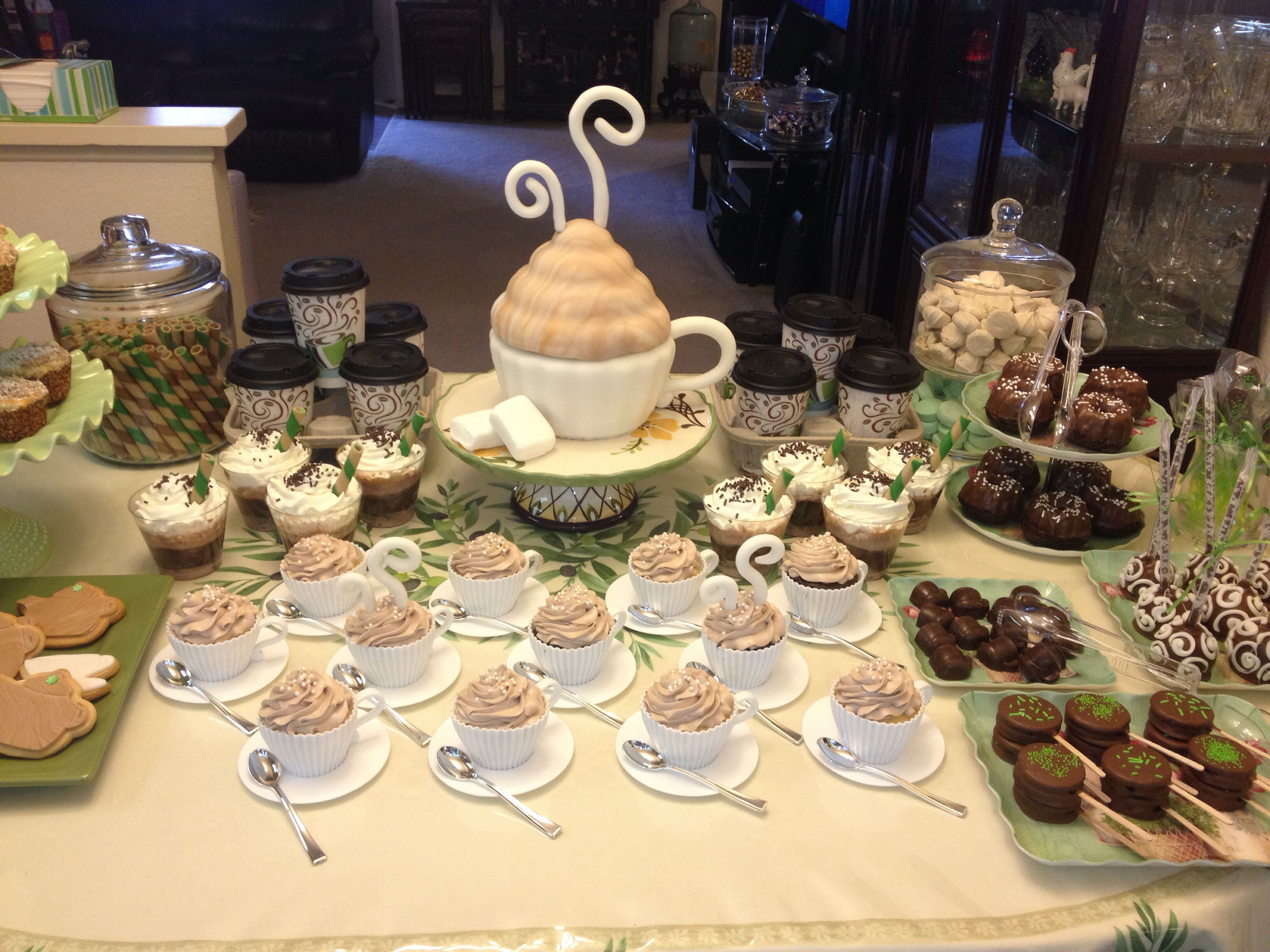 Coffee Theme Party By Cupkits Edible Creations Coffee