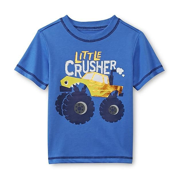 6aff66d40 WonderKids Infant & Toddler Boy's Graphic T-Shirt - Little Crusher ...