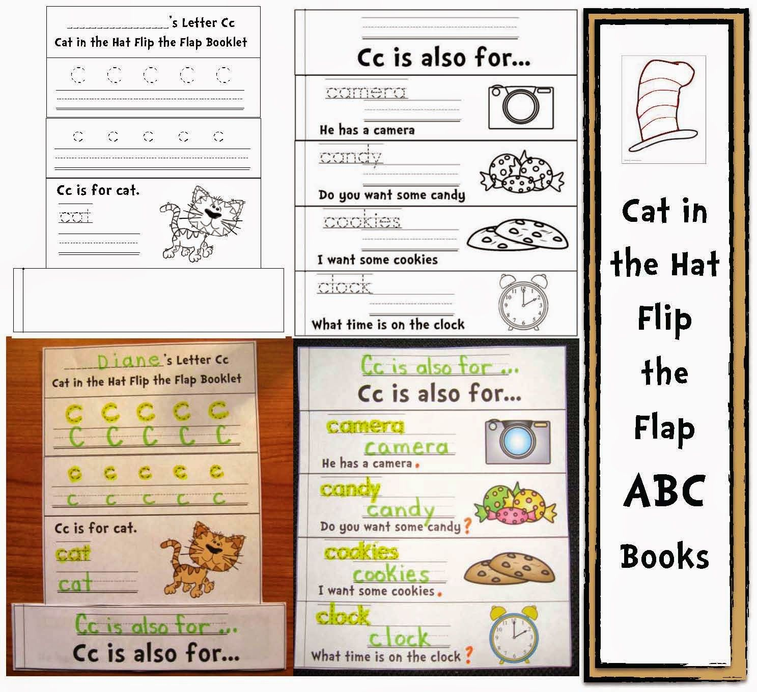 Cat In The Alphabet Hat Common Core Packet