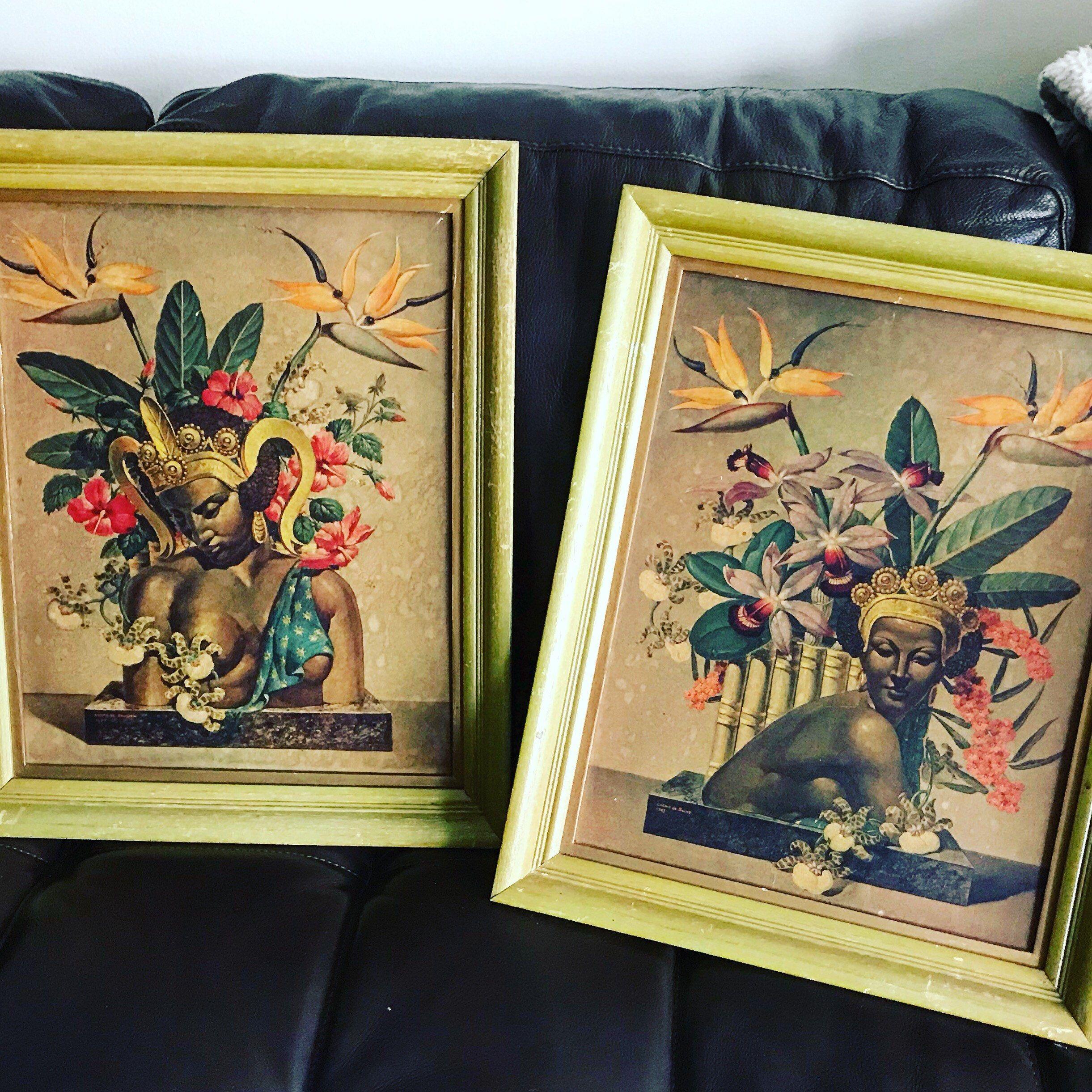 Cosmo De Salvo Prints Mid Century Art Bali Beauties And Mid