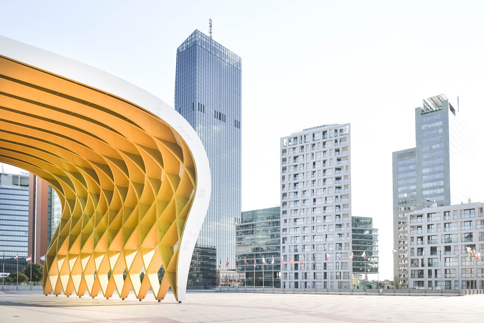 UNO City skyscapers - 5 alternative things to do in Vienna - from travel blog: http://Epepa.eu