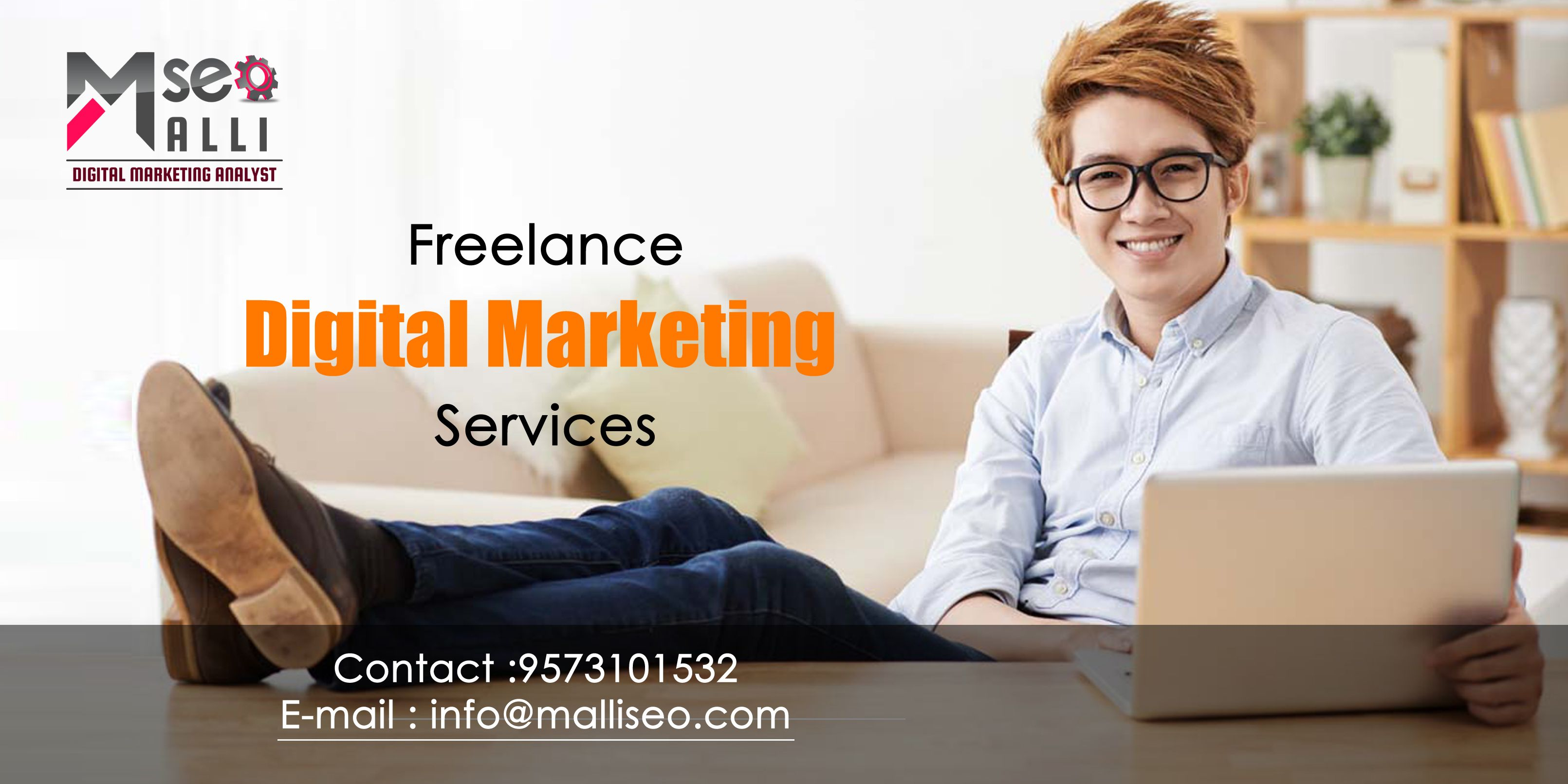 Call 957-310-1532 for Affordable and Low cost Search Engine Optimization, Mallikarjuna - SEO Freelancer in Hyderabad.