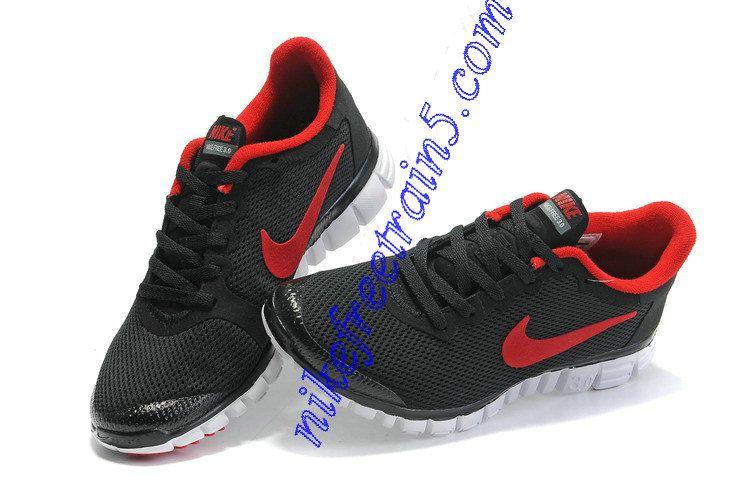 ce1f6ebc73ac Mens Running Shoes Black Red 354574 005 Nike Free 3.0 V2