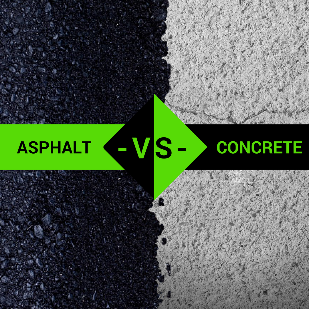 Check Out Our Totally Biased Review On Asphalt Vs Concrete And Don T Forget To Like Our Page Asphalt Driveway Asphalt Concrete