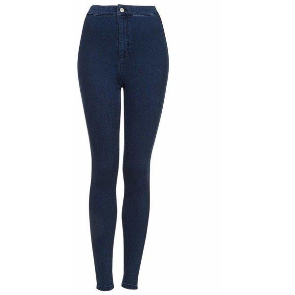 Women's Topshop Moto 'Joni' Skinny Jeans (£41) ❤ liked on Polyvore featuring jeans, pants, bottoms, calças, pantalones, skinny jeans, high rise jeans, denim skinny jeans, high waisted stretch jeans and short skinny jeans