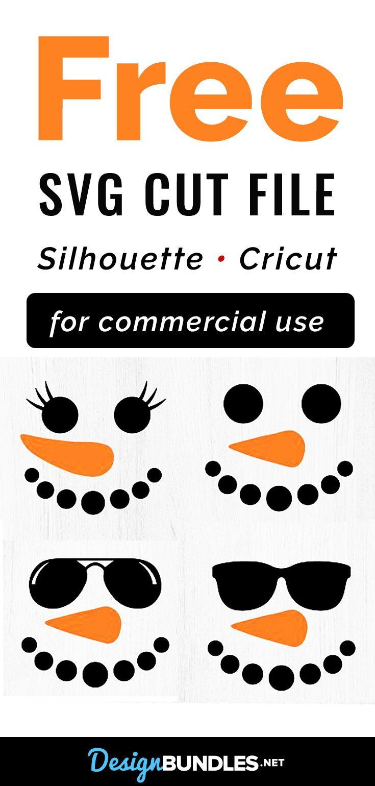 Photo of Snowman Faces Bundle – SVG Files – Cut files for Cricut and Silhouette. This Sno…