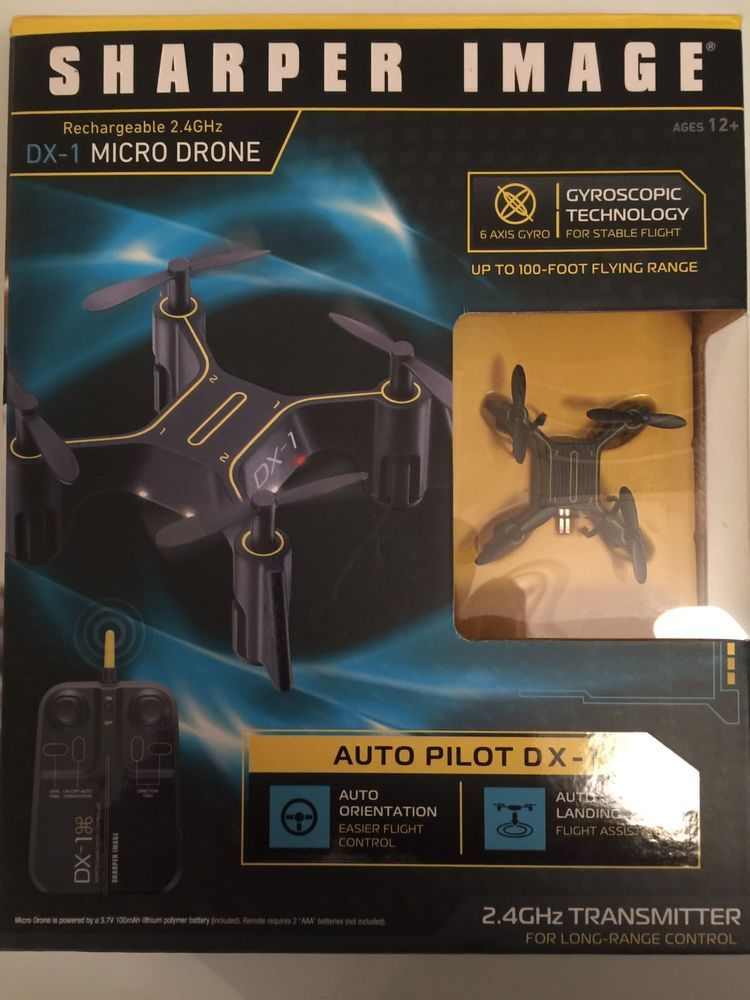 Sharper Image Dx 1 24ghz Micro Drone