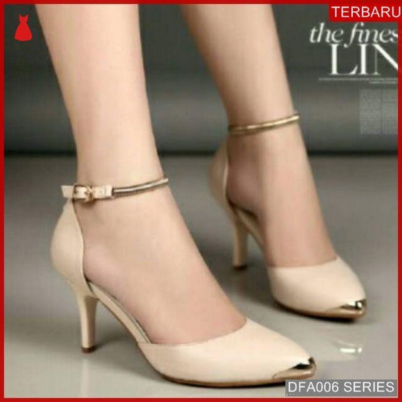 Dfa006s24 Sp06 Sandal Heels Wanita Ready Dewasa Lgsg Sintesis Sepatu Wanita Sepatu Sepatu Hak Tinggi