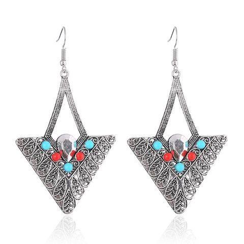 Triangle Kassel Drop Earring