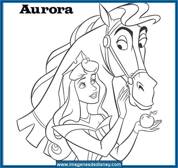 Princesas para pintar disney con imagenes para colorear ... | Para ...