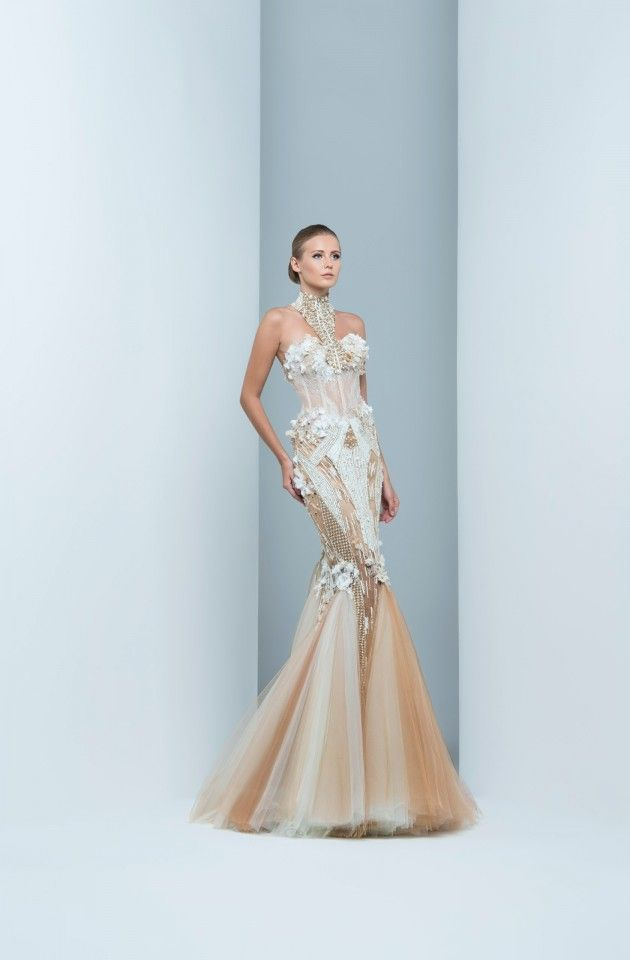 56f428205ce6d Stunning Dresses By Marwan & Khaled That Will Make You Say Wow ...