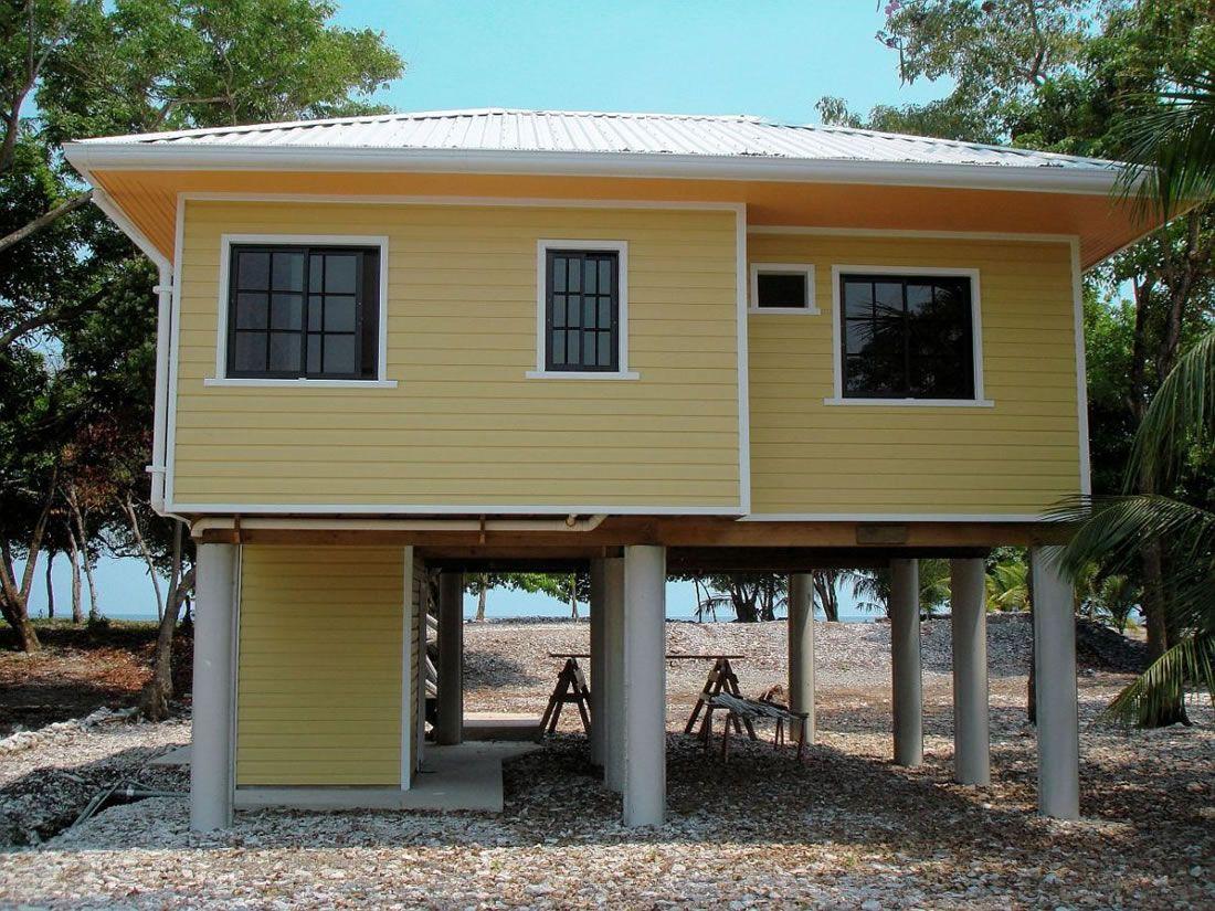 Houses On Stilts Plans Small Beach Houses Small Beach