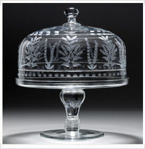 William Yeoward Crystal  Portia  Cake Stand u0026 Dome Bloomingdaleu0027s A very fancy very expensive cake stand & William Yeoward loveliness - crystal cake stand | Crystal ...