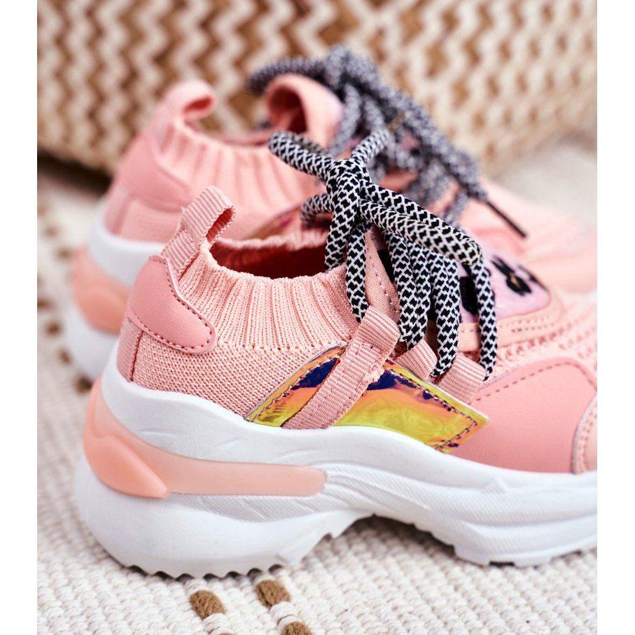 Frrock Dzieciece Sportowe Buty Rozowe Velma Sneakers Nike Shoes Nike Huarache