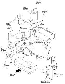 Image result for 1997 honda civic vacuum hose diagram