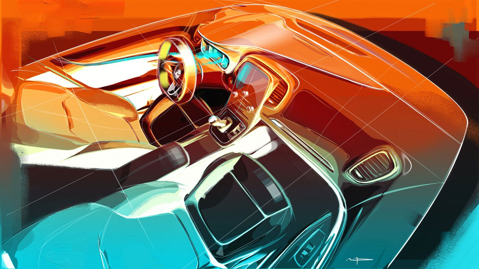 03-New-Renault-Scenic-Interior-Design-Sketch-Render-by-Maxime-Pinol ...