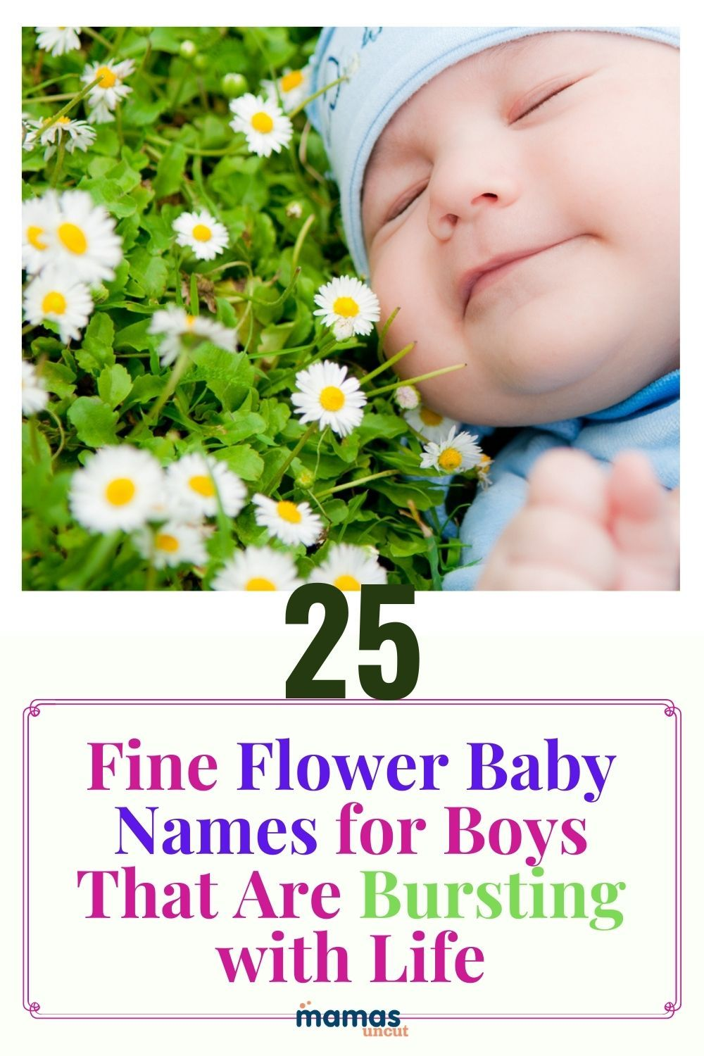 25 Fine Flower Baby Names for Boys That Are Bursting with