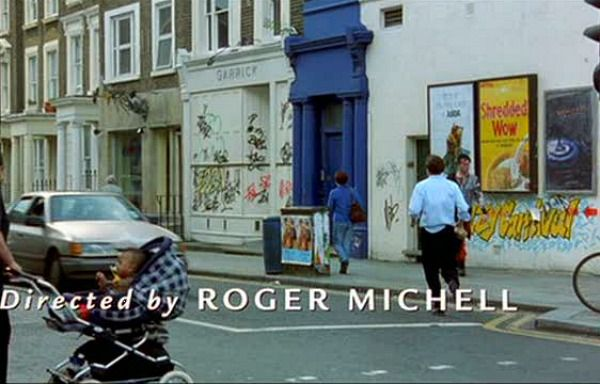 The Filming Locations From The Movie Notting Hill Blue Door House On A Hill Grant House