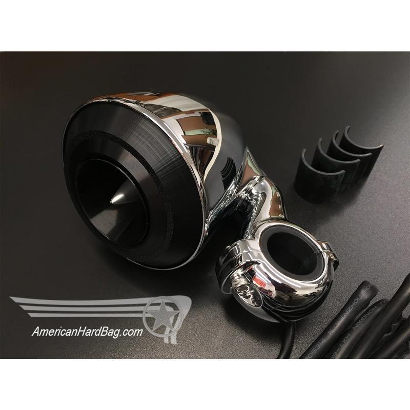 Hertz ST25 Bar Mount Compression Horn Tweeter Kit for Harley | Stuff