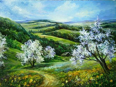 Pin By Sydney Winters On Anca Bulgaru Landscape Paintings Landscape Art Painting Still Life