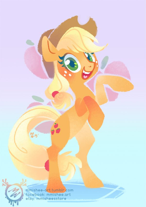 Applejack by mmishee.deviantart.com on @DeviantArt