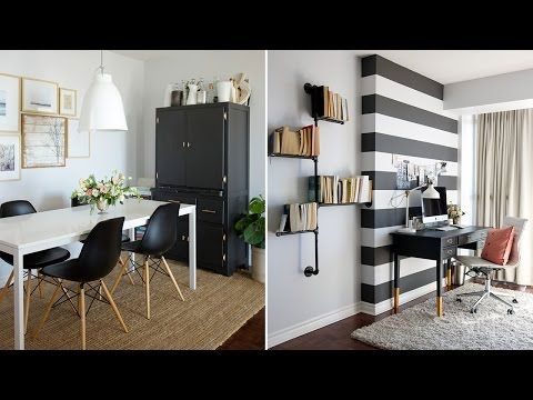Interior Design \u2013 How To Decorate A Rental Apartment - YouTube - kleine wohnzimmer modern