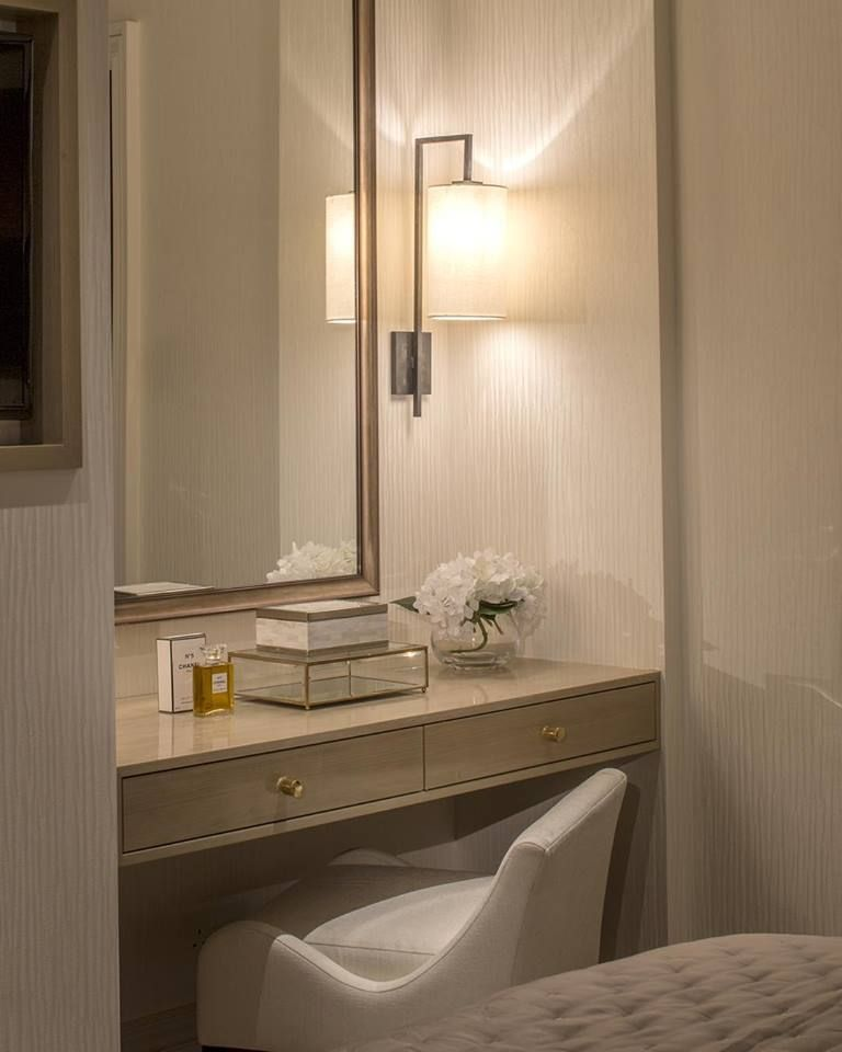 Bedroom With Bathroom: Great Way To Fill A Small Recess In A Bedroom...