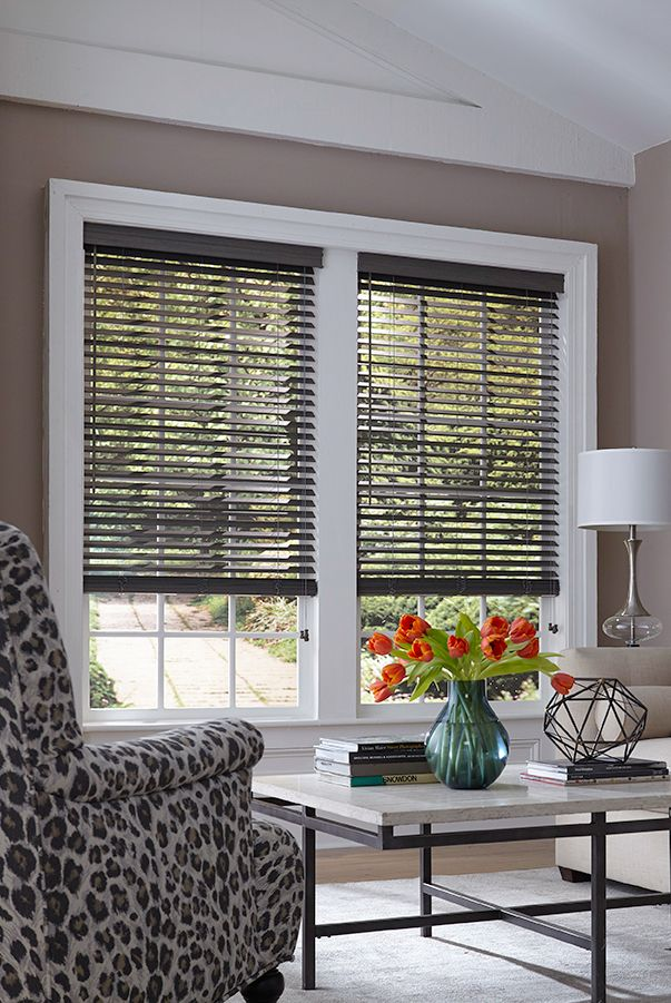 Blinds Com Architectural 2 Wood Blinds Shown In The Color Vintage