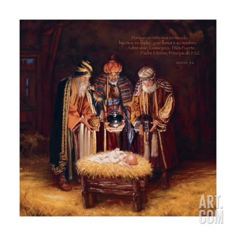 Wise Men Still See Him - Espanol Giclee Print by Mark Missman at Art.com