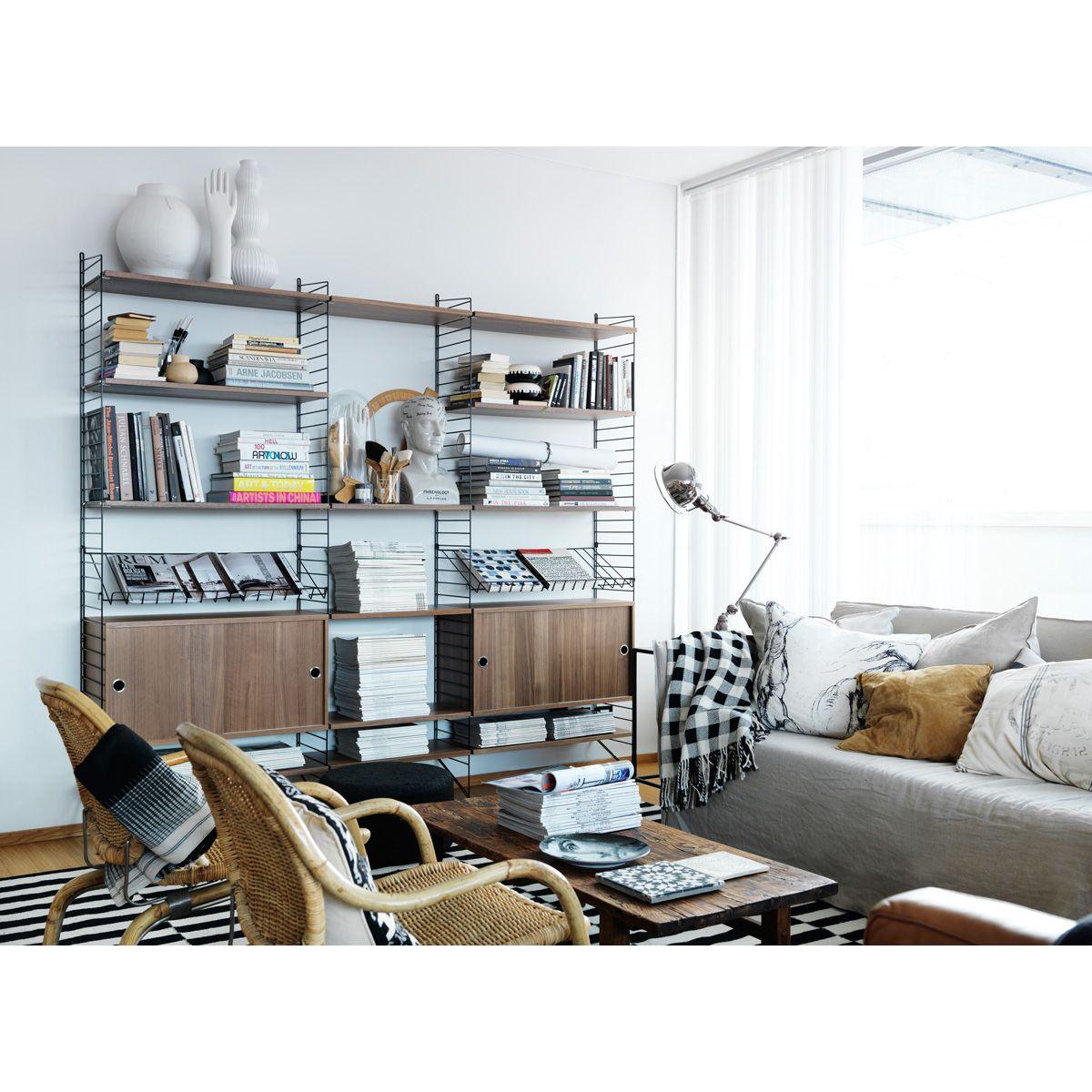 String Shelf by Nils Strinning