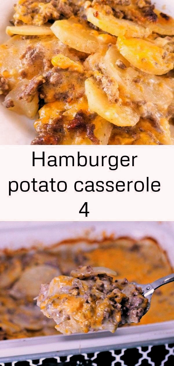 Hamburger Potato Casserole An Easy Casserole Recipe With Ground Beef Cheese And Potato In 2020 Easy Casserole Easy Casserole Recipes Ground Beef Casserole Recipes