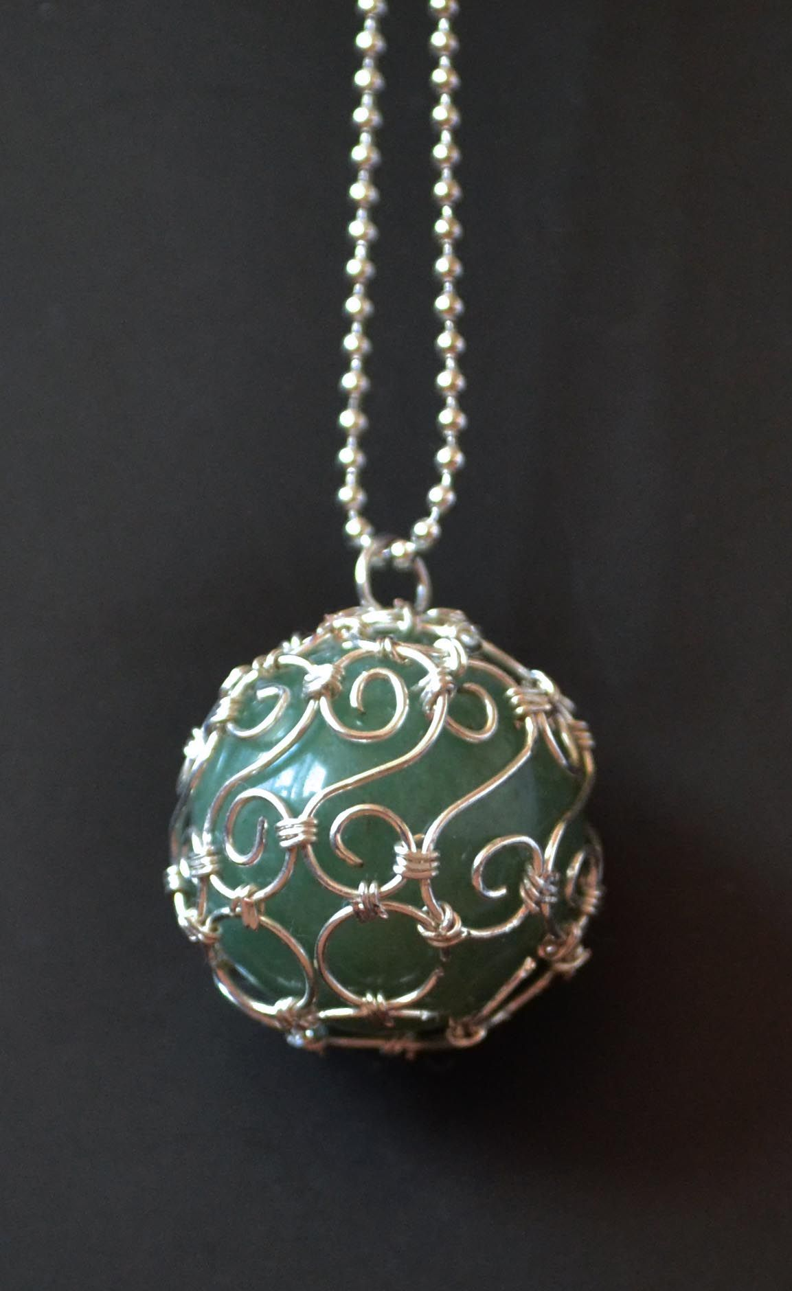 Oasiaris - handcrafted jewelry | Aventurine Ball | Online Store ...