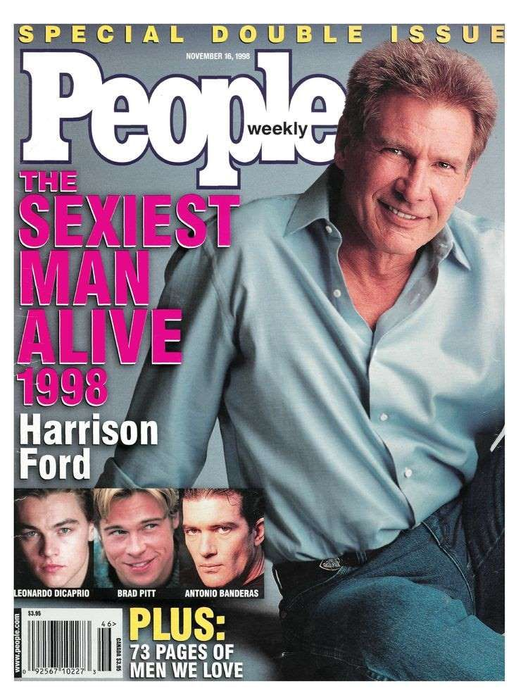 Harrison ford sexiest man alive