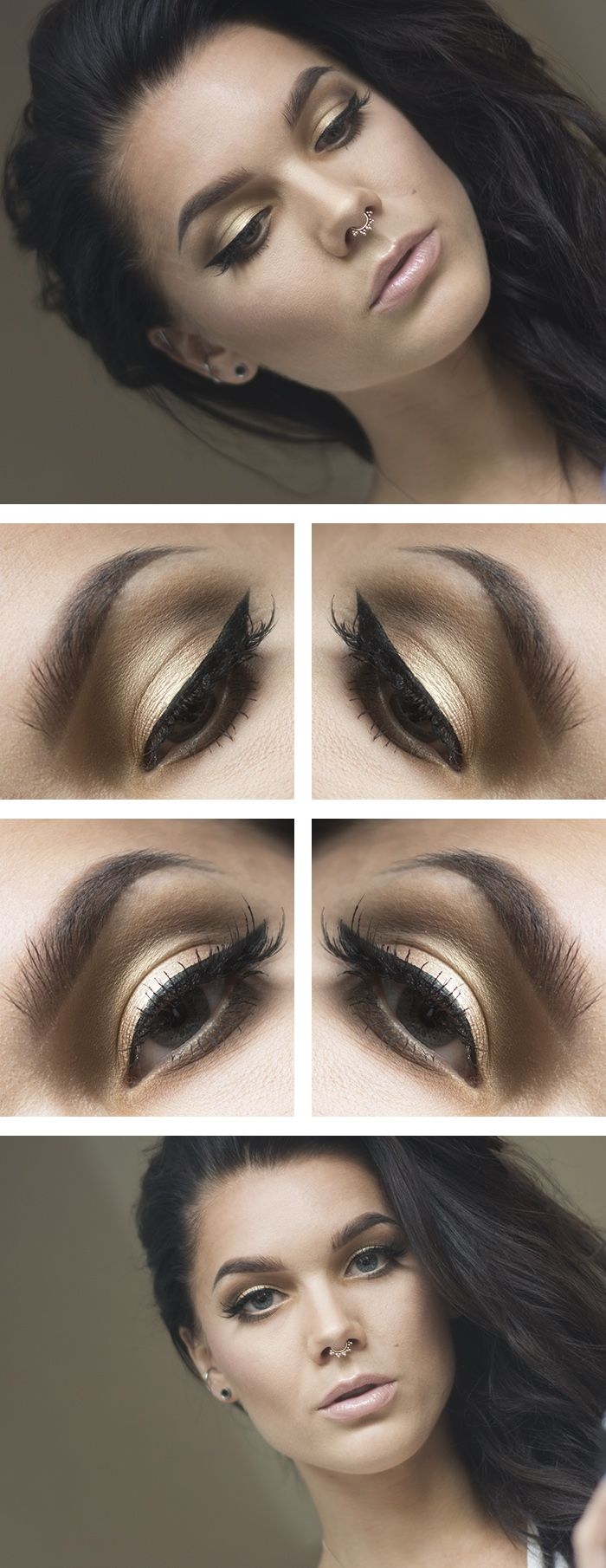 Luonnollinen kesämeikki | Light and bronzed summer makeup look by Linda Hallberg