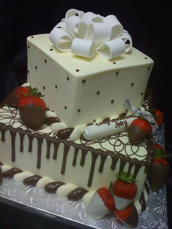 Graduation Cake 2 Tier Graduation Cakes Graduation Desserts