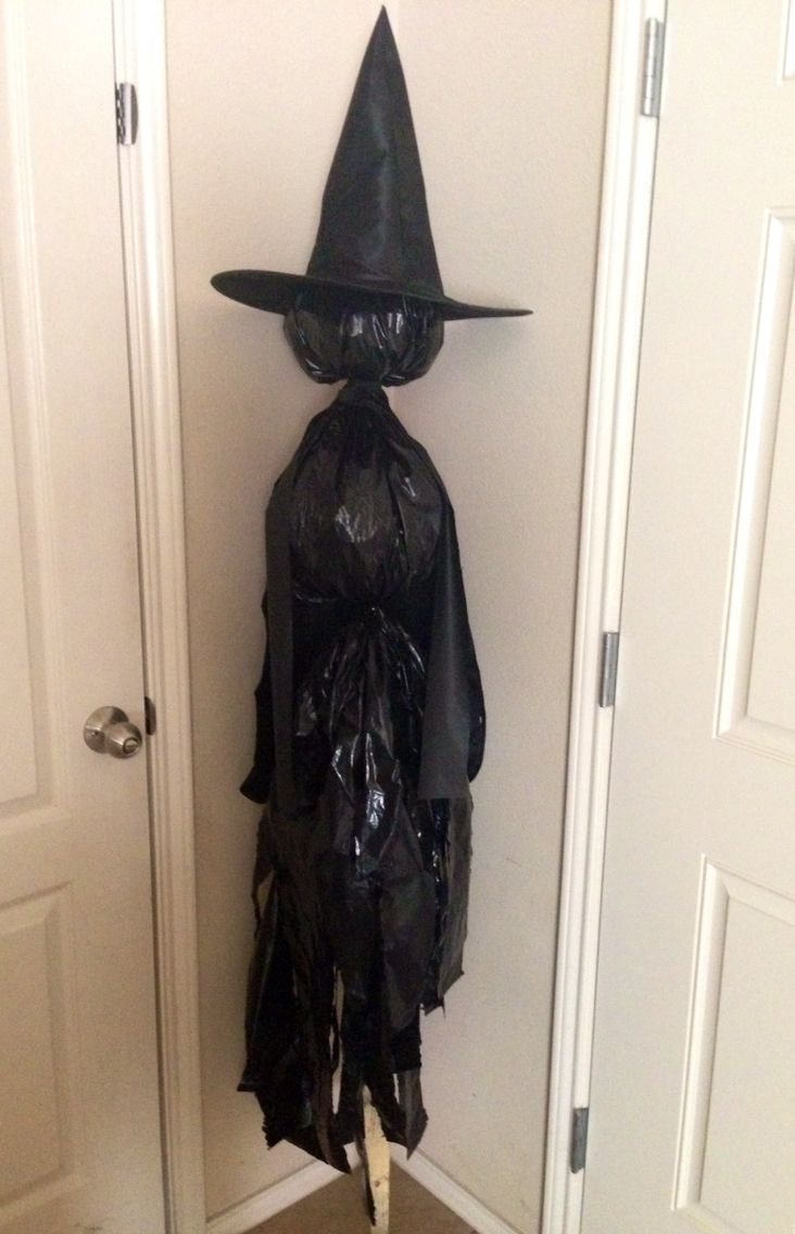 Halloween Nylon Faced Witch