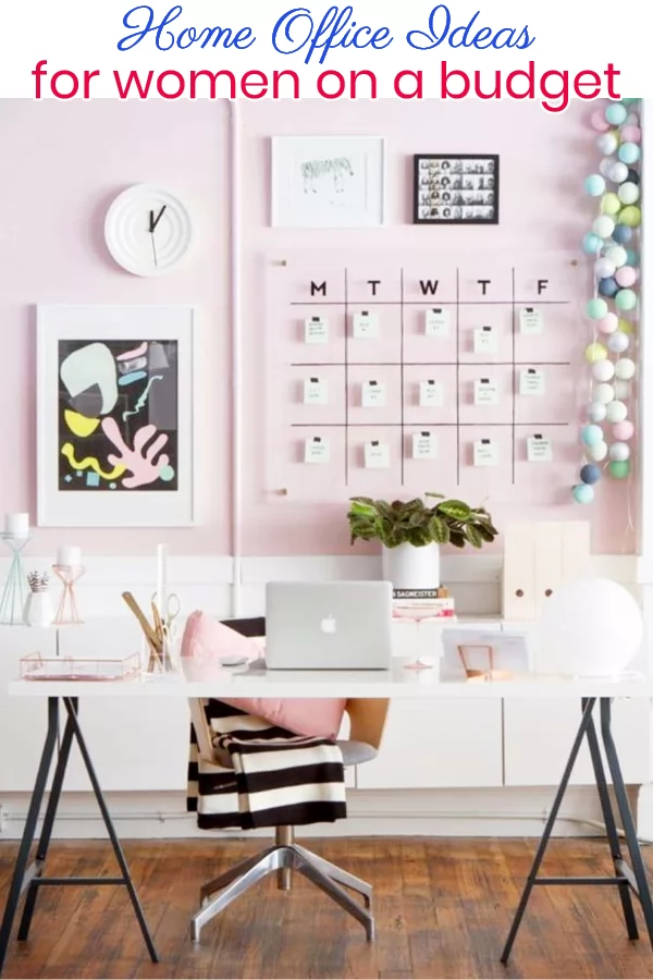 Home Office Ideas for Women on a Budget Home office