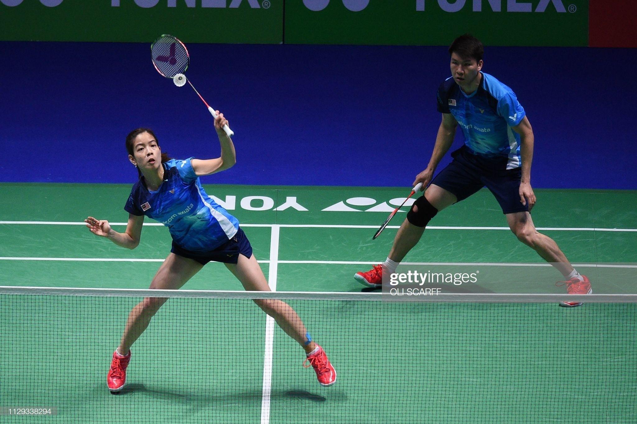 Pin Oleh Badminton Updates Di Mix Double