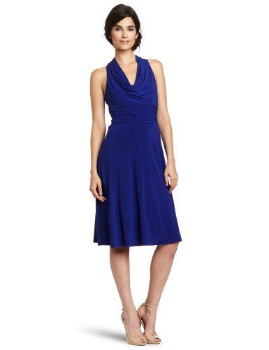 Evan Picone Womens Marilyn Halter Dress Dress Adds Everyday