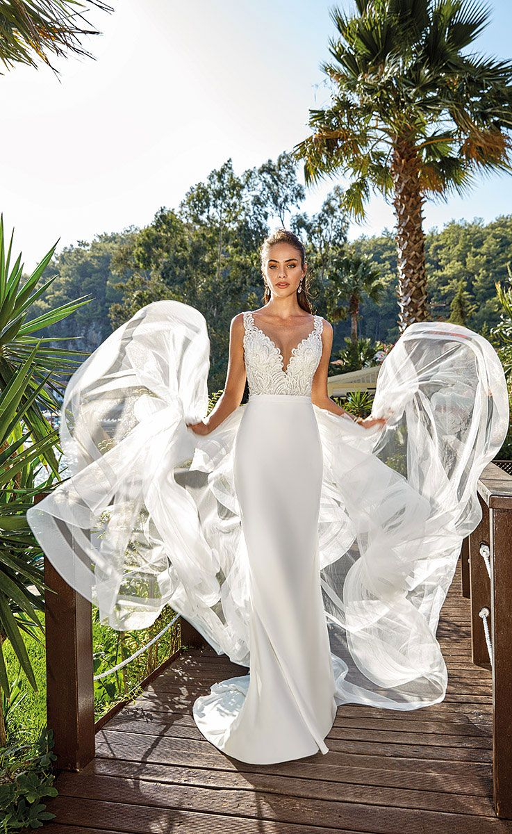 Eddy K Wedding Dresses - Dreams 2019 Bridal Collection  #weddingdress #weddinggown #weddingdresses