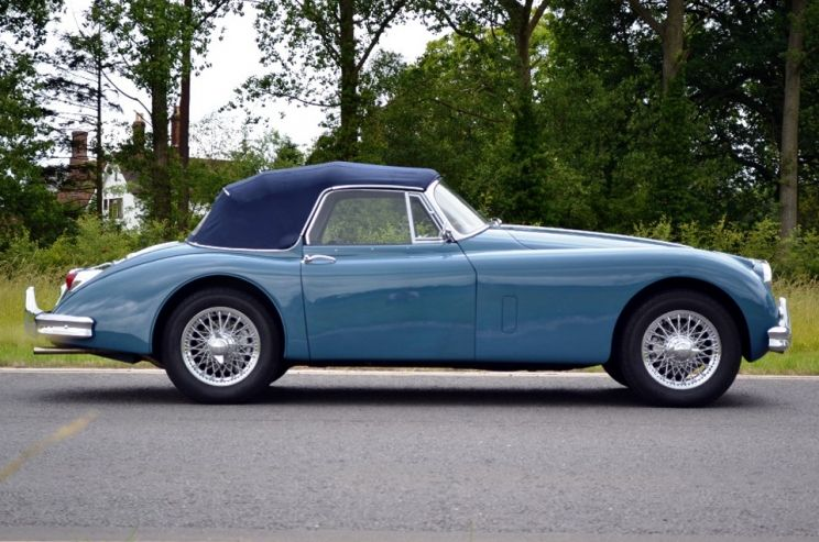 Jaguar Xk150 34 Dhc for Sale in UK  Classic Sports Cars Sales