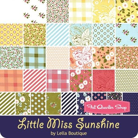 LITTLE MISS SUNSHINE by Lella Boutique for Moda Jelly Rolls